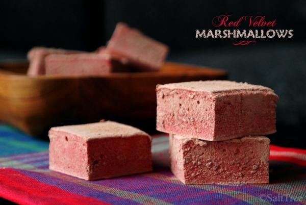 Red Velvet Marshmallows