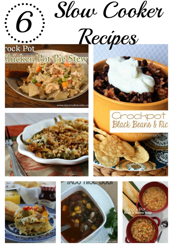 6 Slow Cooker Recipes