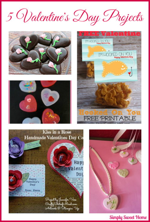 5 Valentines Day Projects