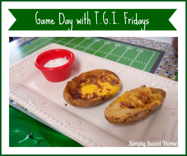 Game Day with T.G.I. Friday's Potato Skins #TGIFGameDay #CollectiveBias #shop