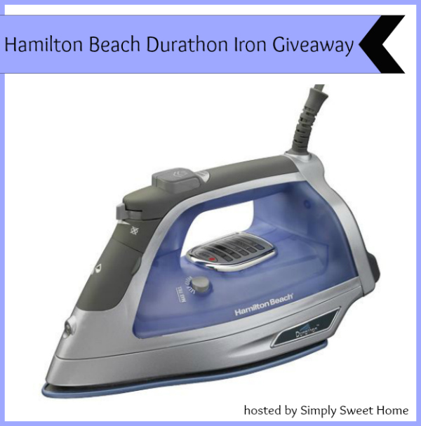 Hamilton Beach Durathon Iron