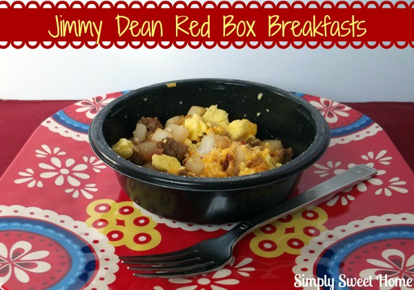 Jimmy Dean RedBox Breakfasts