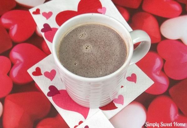 Nutella Hot Chocolate Plain