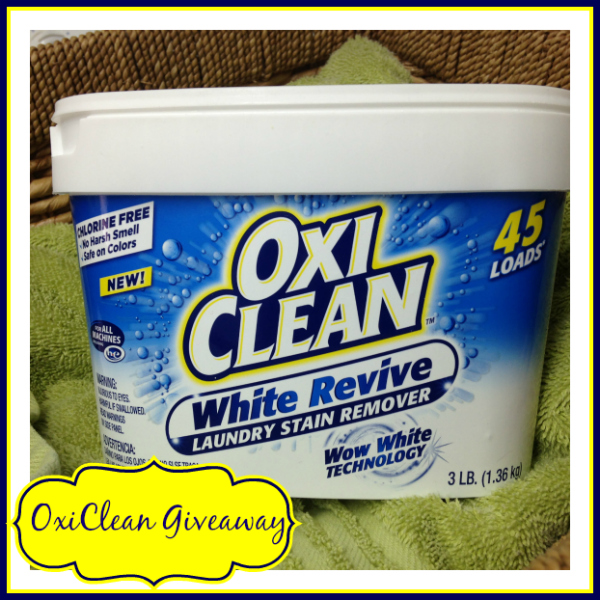 OxiClean Giveaway