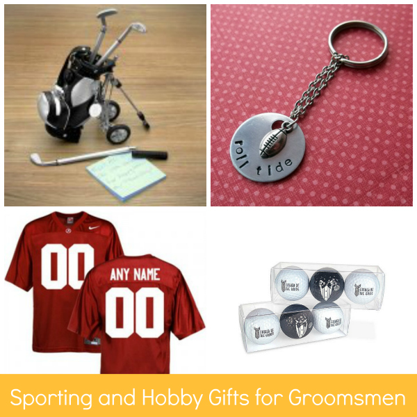 Sporting and Hobby Gifts for Groomsmen