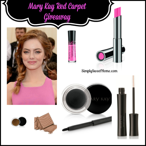 Mary Kay Red Carpet Giveaway