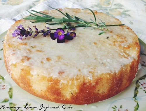 Rosemary and Lemon Infused CAke