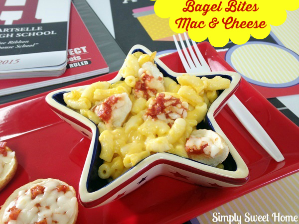 Bagel Bites Mac & Cheese