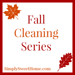 Fall Cleaning Series