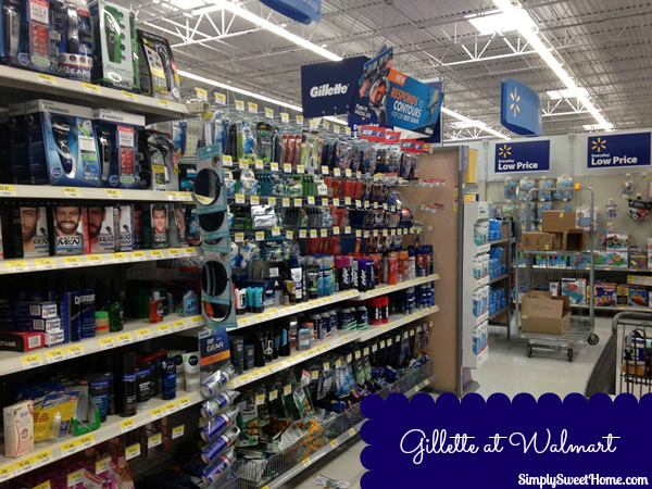 Gillette at Walmart