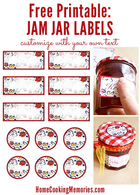 Jam Jar Printable