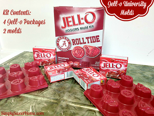 Jello Kit Contents