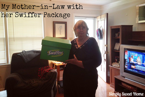 Mother in Law with Swiffer
