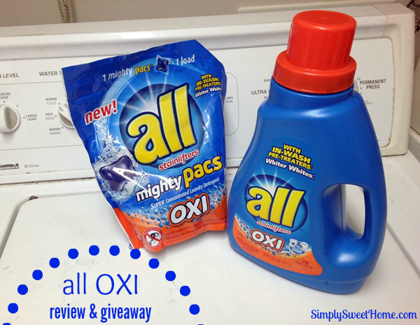 All Oxi Review Giveaway