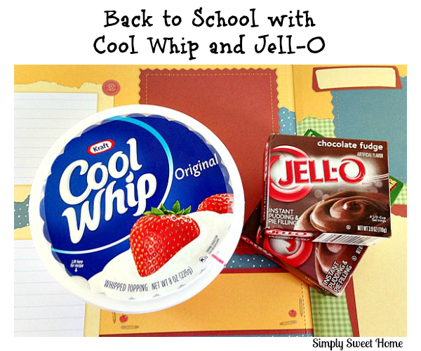 Back to School with Cool Whip