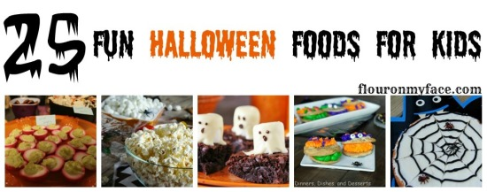 25 Fun Halloween Foods
