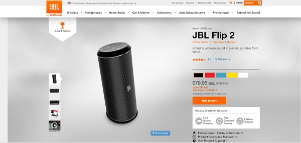 JBL Screenshot