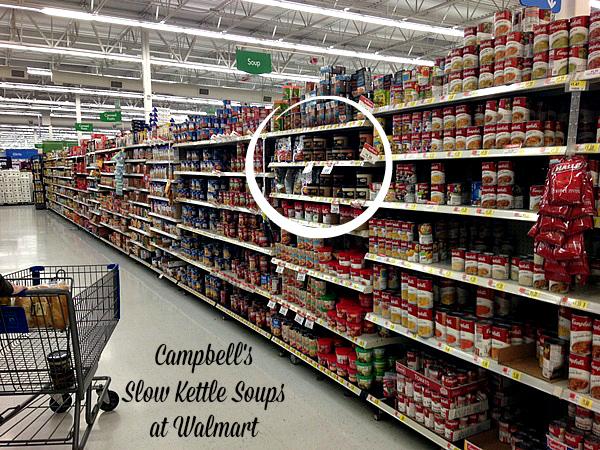 Campells Slow Kettle Soups at Walmart