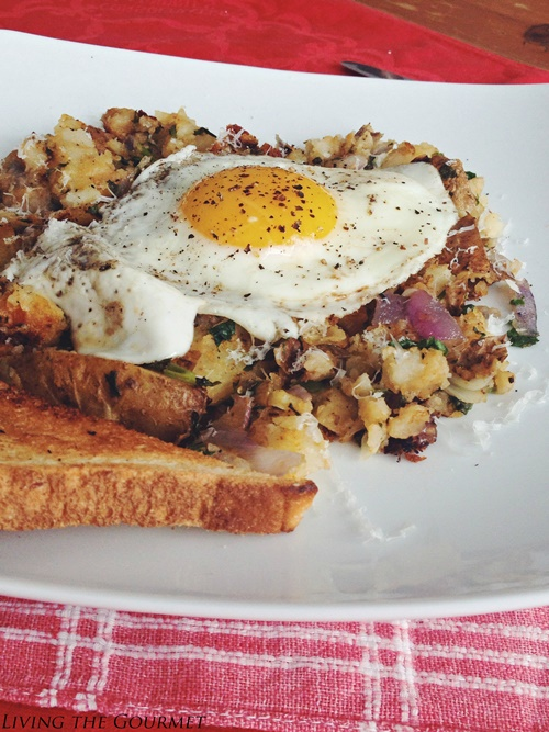 Spicy Home Fries and Eggs