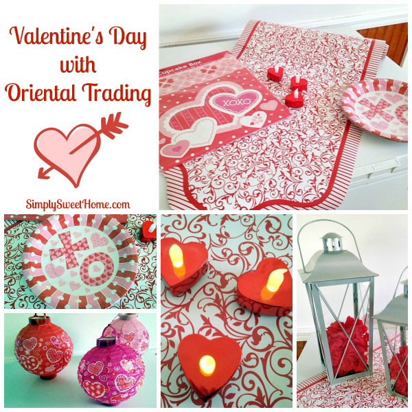 Valentines Day with Oriental Trading