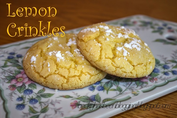 Lemon Crinkles