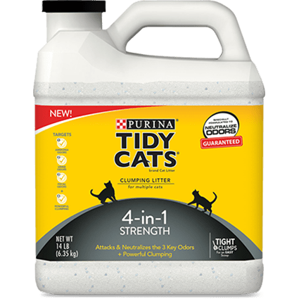 Tidy Cats 4 in 1