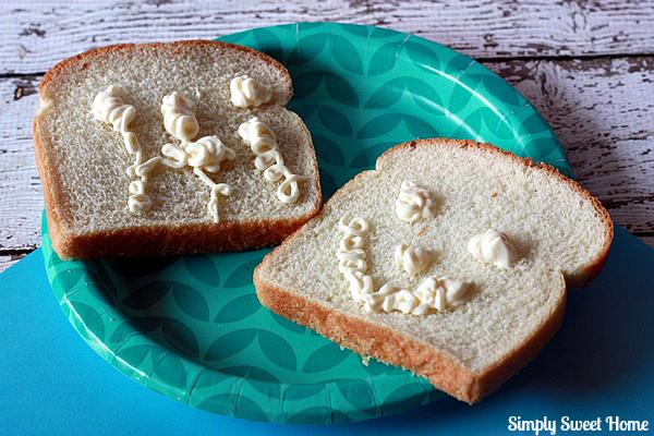 Sandwich Bread Fun