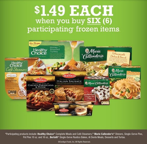 Stock Up on Frozen Foods and SAVE at Kroger