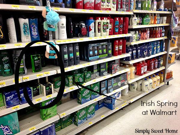 Soap Aisle at Walmart