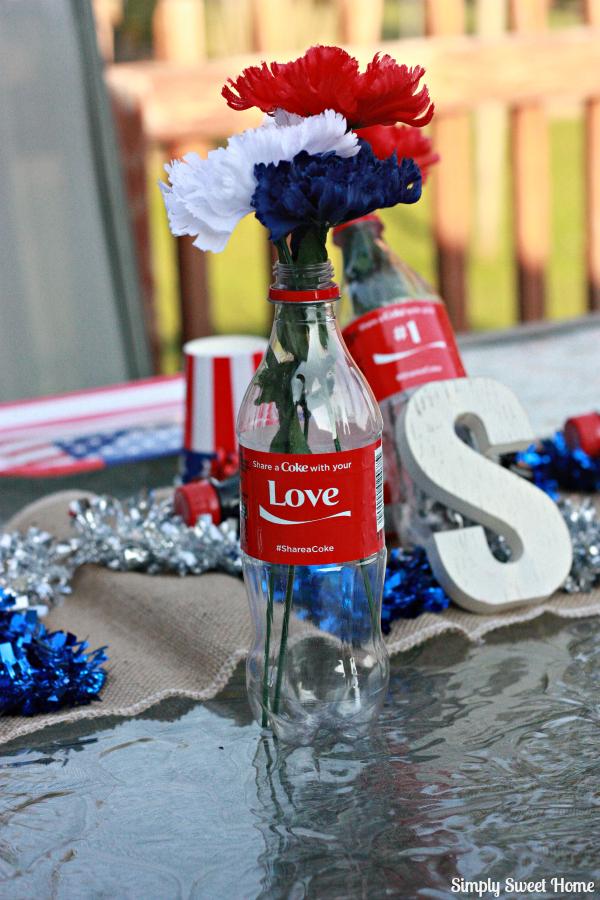 Coca Cola Table Decor