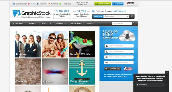 GraphicStock site
