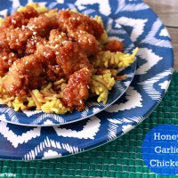 Honey Garlic Chicken Recipe + Heartburn Free with Nexium