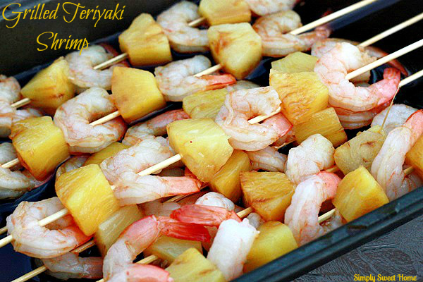 Grilled Teriyaki Shrimp