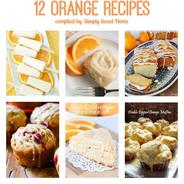 12 Orange Desserts