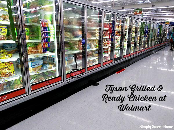 Tyson Grilled & Ready Chicken at Walmart