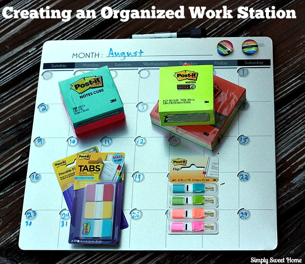 Creating an Organized Work Station