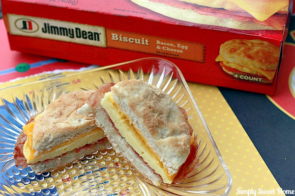 Jimmy Dean Bacon Egg and Cheese Biscuit