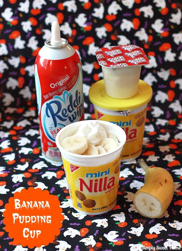 Banana Puddng Cups