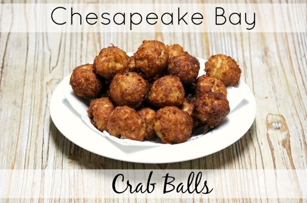 Chesapeake Bay Crab Balls