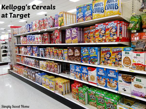 Kelloggs at Target