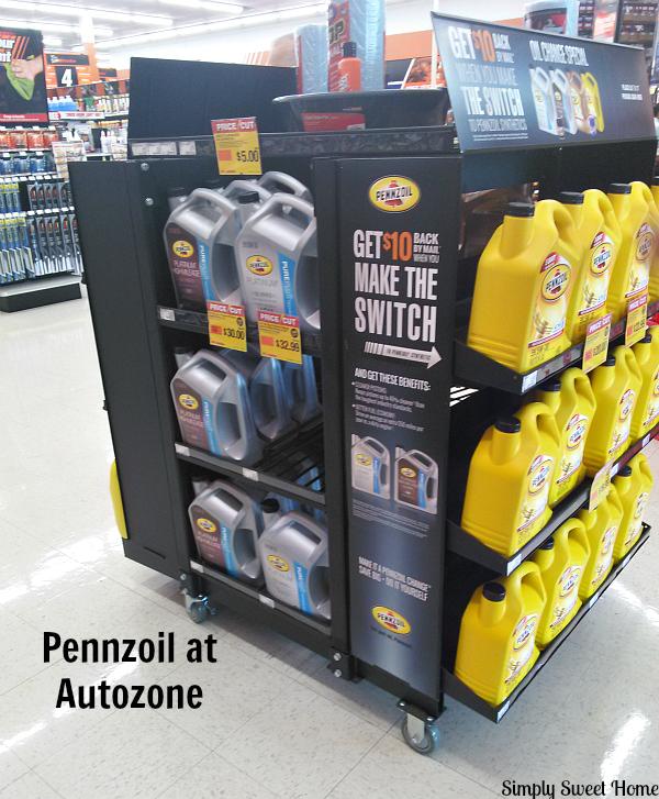 Pennzoil at Autozone
