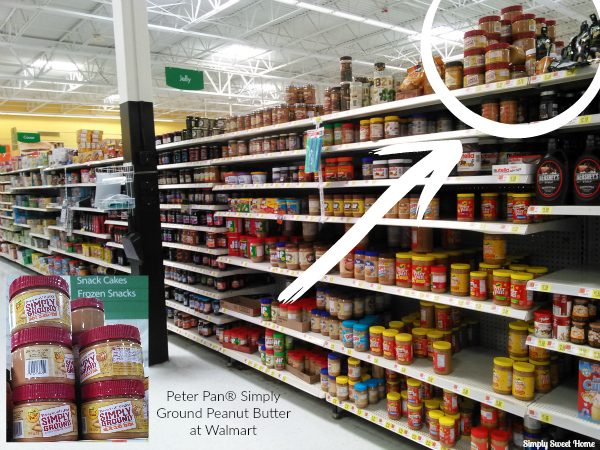 Simply Ground Peanut Butter at Walmart
