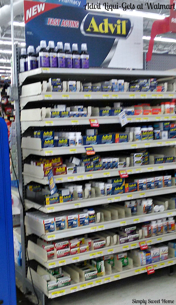 Advil Liqui-Gels at Walmart