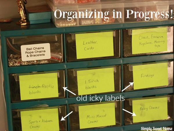 Organizing in Progress