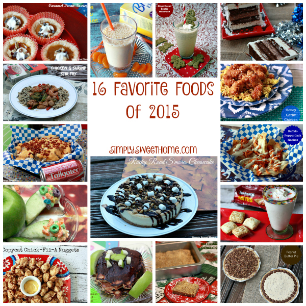 16 Favorite Foods of 2015