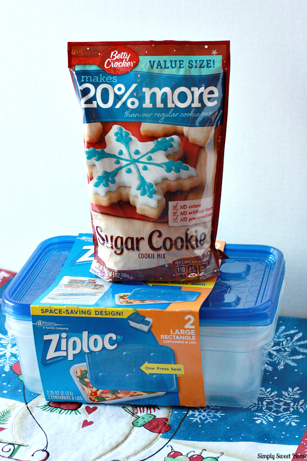 Betty Crocker and Ziploc