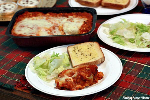 Easy Italian Dinner