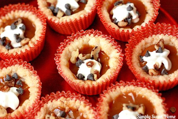 Mini Caramel Pies