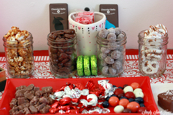 Chocolate Party Table