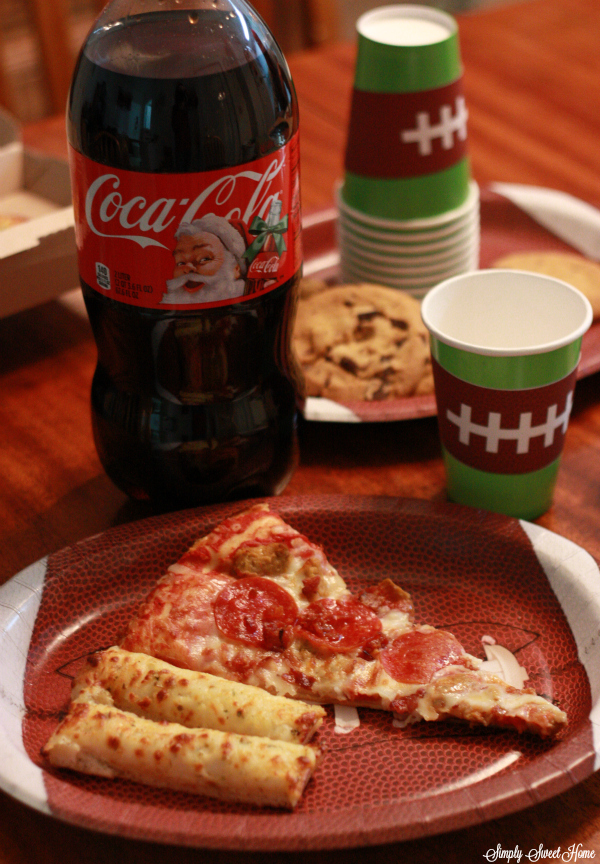 Pizza and Coke